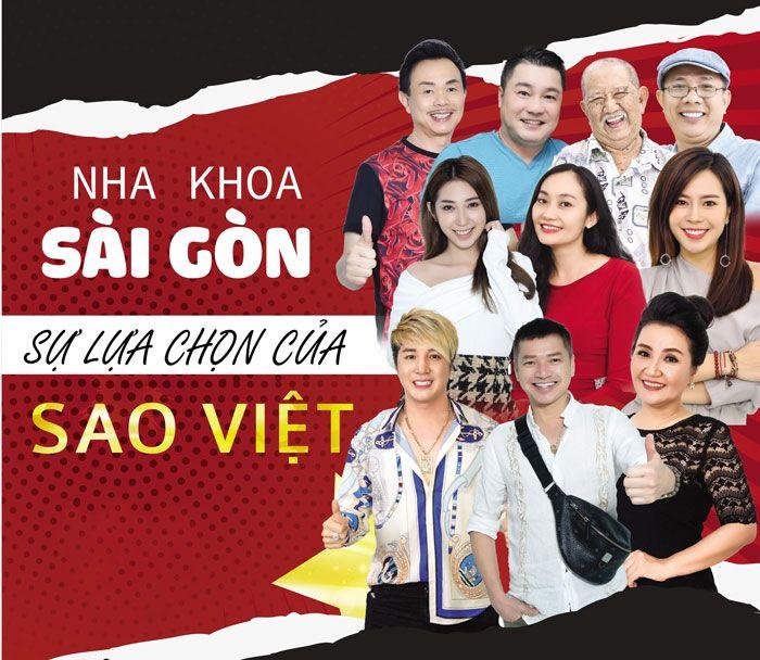 Nha khoa Sài Gòn sự lựa chọn của Sao Việt