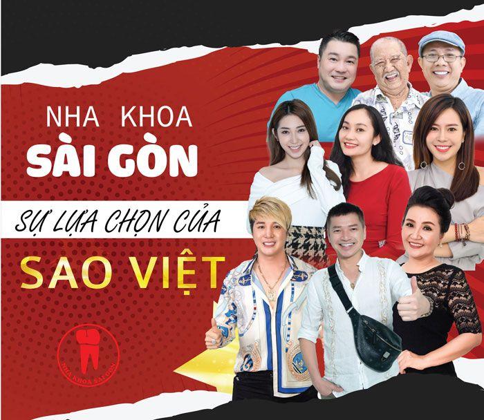 Nha khoa Sài Gòn - sự lựa chọn của sao Việt